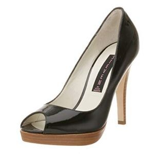 Steven by Steve Madden Lalo Patent Leather Pumps 8